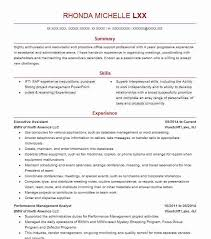 Best Executive Assistant Resumes Best Executive Assistant Resume Example Livecareer