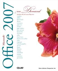 Office Cover Page Microsoft Office 2007 On Demand Informit