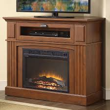 Whalen Sumner Corner Media Electric Fireplace For TVs Up To 45 Walmart Corner Fireplace