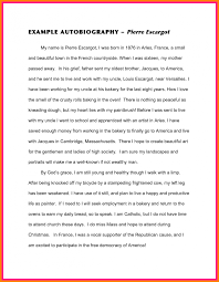 life essay examples toreto co my future sample example of personal   college autobiographical essay example 7 tok sample on story my life examples autobiography short writing a