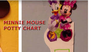 Printable Potty Training Chart Minnie Mouse Minnie Mouse Potty Chart 2