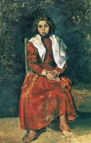 picasso early works realism the barefoot girl 1895 by pablo picasso early years realism