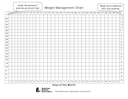Weight Loss Colouring Chart Printable 16 Explicit Blank Tracking Chart