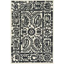 cream and gold area rug hand tufted black cream area rug reviews regarding and rugs remodel 5