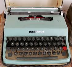 """Résultat de recherche d'images pour """"machine à écrire olivetti"""""""
