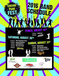 epf band schedule flyer