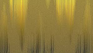 shallow focus of yellow painting gold