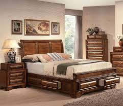 cal king bedroom furniture set. Traditional Bedroom Design With Konance Brown Cherry Sleigh 5 Piece California King Set, Decorative Curve Headboard Panel, Cal Furniture Set H