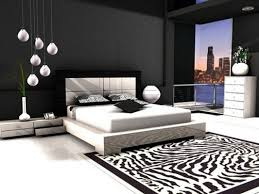 modern bedroom design ideas black and white. Delighful Modern Black And White Modern Bedroom Design 10 Intended Ideas