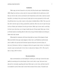 sexual violence prevention literature review male rape 7