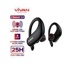 Tai Nghe Bluetooth 5.0 VIVAN Sport X Kiểu Dáng Thể Thao Chống Nước IPX5