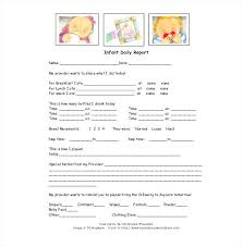 baby daily report sheet baby daily sheet sheets view infant report template strand activity