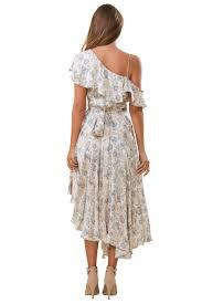 Rent Zimmermann Stranded Flared Wrap Dress The Mode Dubai