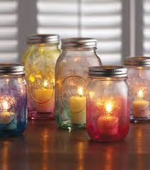Diy Candle Holders Mason Jar Crafts Create A Diy Candle Holder Using Watercolors