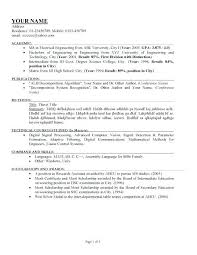 How To Write A Good Resume Awesome Proper Way To Write A Resume Free Chronological Resume Examples How