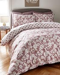 darcy dusky pink duvet cover set