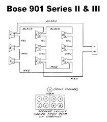 bose 901 speakers series wiring diagram bose wiring diagrams description 901 wd 2 bose speakers series wiring diagram