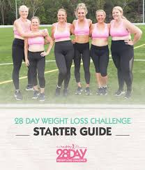 free 28 day challenge starter guide