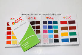 Printing Service For Emulsion Epoxy Floor Paint Color Card