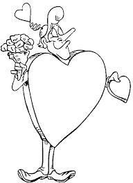 Kids N Fun Kleurplaat Valentijn Valentijnsdag