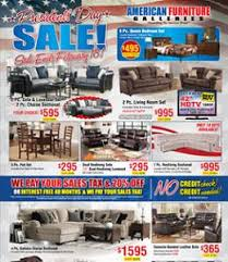 American Furniture Galleries Weekly Ad Specials