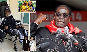Image result for Robert Mugabe, strongman who cried, 'Zimbabwe is mine,' dies at 95