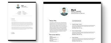 Minimal Resume Cv Resume Template 65318