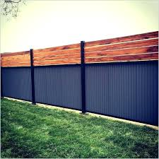corrugated metal fence. Wonderful Fence Corrugated Metal Fence Cost Steel And Wood A  Buy Best   With Corrugated Metal Fence
