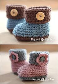 Crochet Baby Shoes Pattern Magnificent 48 Adorable And FREE Crochet Baby Booties Patterns