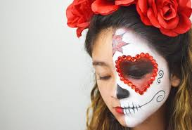 143 80497 day of the dead face painting