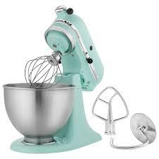 kitchenaid ultra power stand mixer 4 5qt 300 watt ice blue stand mixers best canada