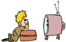 kids watching tv clipart. kids watching tv clipart g