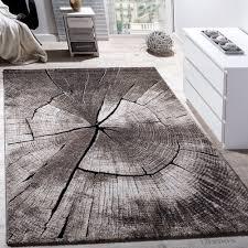 elegant designer rug lounge tree trunk design nature grey brown beige