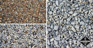 River Rock Size Chart Best Types Of Gravel For Driveways Gardening Channel