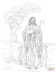 You might also be interested in coloring pages from jesus' parables category. Good Shepherd Coloring Pages Free Coloring Home