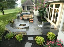 Backyard Concrete Designs Fascinating Backyard Concrete Patio Designs Concrete Patio Backyard Stamped