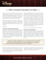 BDO Centennial Celebration Case Study