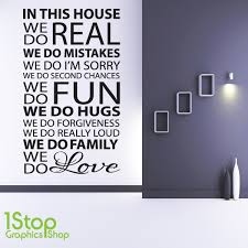 house rules wall sticker quote home kitchen lounge love wall art decal x69  on wall art decals quotes for kitchen with house rules wall sticker quote home kitchen lounge love wall art