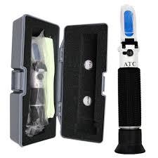 Retail Box <b>Liquor tester</b> refractometer Wine <b>concentration detector 0</b> ...