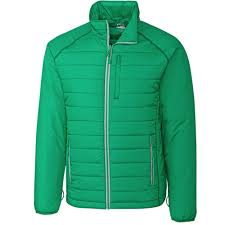 Cutter Buck Mens Spark Systems Packable Barlow Pass Quilted Jacket