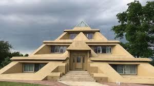 Pyramid Houses My Pyramid House In Clear Lake Ia Youtube