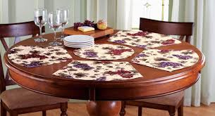round table mat brilliant 2pcs lot decorative placemats hand knitted cotton pertaining to 24 winduprocketapps com round table mats india matt dowling