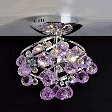 purple ceiling light fixture colors