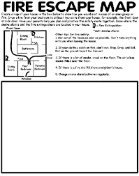 Small Picture Fire Escape Map Coloring Page crayolacom