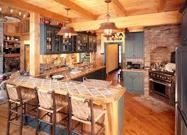 Kitchen tiles countertops Granite Mountain Home Kitchen Design Pinterest Tile Countertops Make Comeback Know Your Options