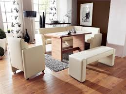 Corner Kitchen Table And Bench Set The Modern Grass Creating A