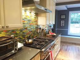 yellow and grey glass tile kitchen steel bamboo remix kitchen backsplash
