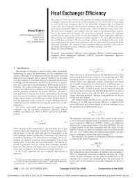 Research Paper On Heat Exchanger Design Pdf Heat Exchanger Efficiency