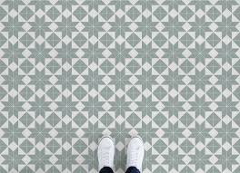 victorian tile effect vinyl flooring