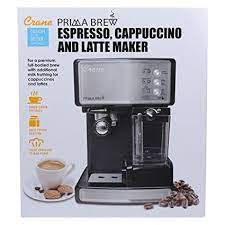 Best coffee machines in india. Buy Crane Espresso Cappuccino And Latte Coffee Maker Ee 3000 Online At Low Prices In India Amazon In